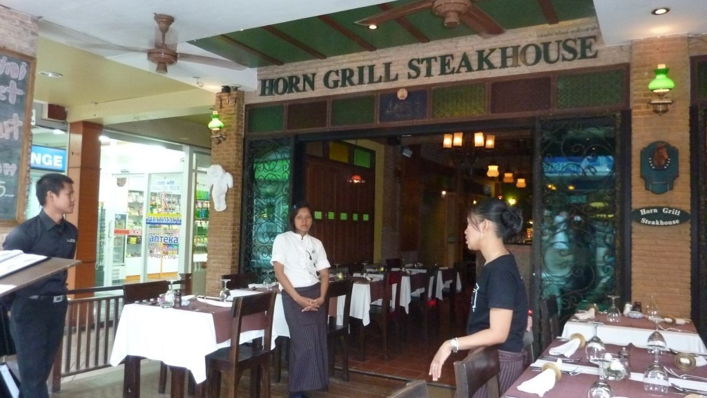 Horn Grill Steakhouse Kata Beach Restaurants and Dining in Phuket Thailand