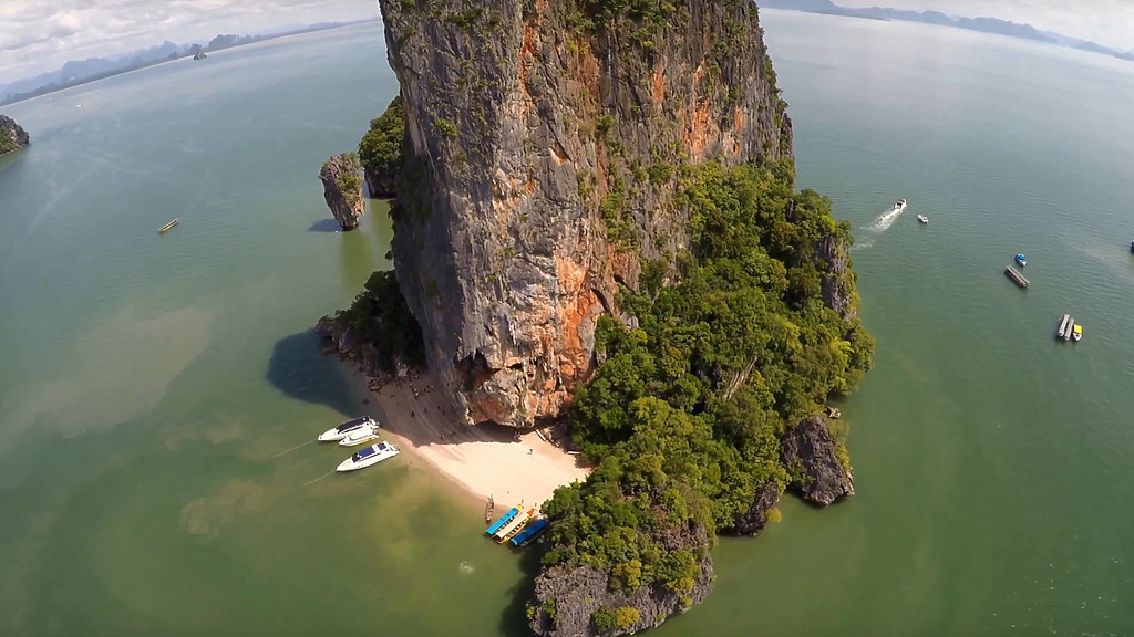 phuket photos daylife phagna bay james bond island